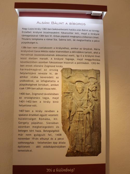 Alsáni Bálint püspöksége idején, 1374-ben indul a történet.